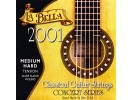 La Bella Strings For Classical Guitar Professional Studio 2001 MHT Hard Tension