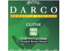 Martin Darco D2100 Phosphor Bronze Acoustic Guitar Strings, Extra Light