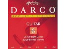 Martin Darco D5100 80/20 Bronze Acoustic Guitar Strings, Light