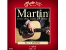 Martin M 140 Light Acoustic Guitar Strings