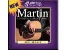 Martin M 175 Traditional Bronze Custom Light Acoustic Guitar Strings