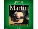 Martin M 530 Phosphor Bronze Extra Light Acoustic Guitar Strings