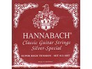 Hannabach 815 XHT RED Nylon Strings for classical guitar, red (extra hard tension)