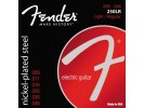 Fender PRIBOR Super 250 Guitar Strings. Nickel Plated Steel. Ball End. 250LR Gauges .009-.046