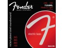 Fender PRIBOR Super 7250 Bass Strings. Nickel Plated Steel. Long Scale. 7250ML Gauges .045-.100