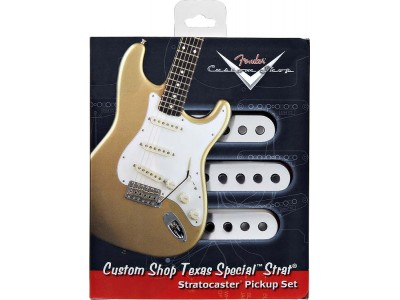 Fender PRIBOR Custom Shop Texas Special Stratocaster Pickups. Set of 3