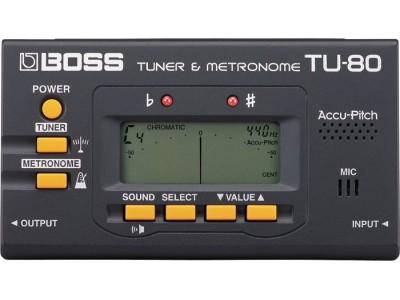 Boss TU-80 Tuner & Metronom