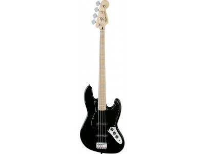 Squier By Fender Vintage Modified Jazz Bass '77. Maple Fretboard. Black