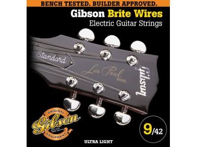 Gibson PRIBOR Brite Wires Elect. .009-.042