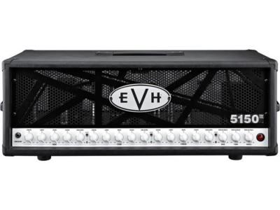 EVH 5150 III HD. 100w Tube Amplifier Head. Black