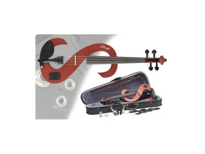 Stagg EVN 4/4 TR Transparent Red
