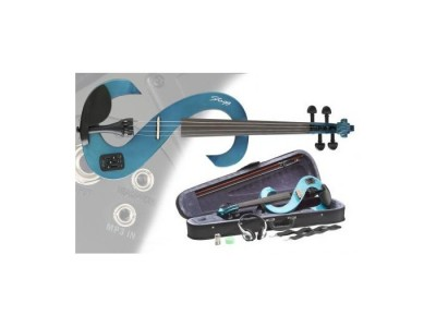 Stagg EVN 4/4 TB Transparent Blue