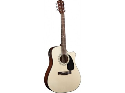 Fender CD-60 CE. Natural. Cutaway. Spruce Top. Nato Back/Sides. Fishmanr