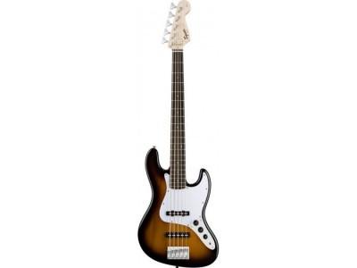 Squier By Fender Affinity Jazz Bass V (5 String). Rosewood Fretboard. Brown Sunburst Brown Sunburst Rosewood
