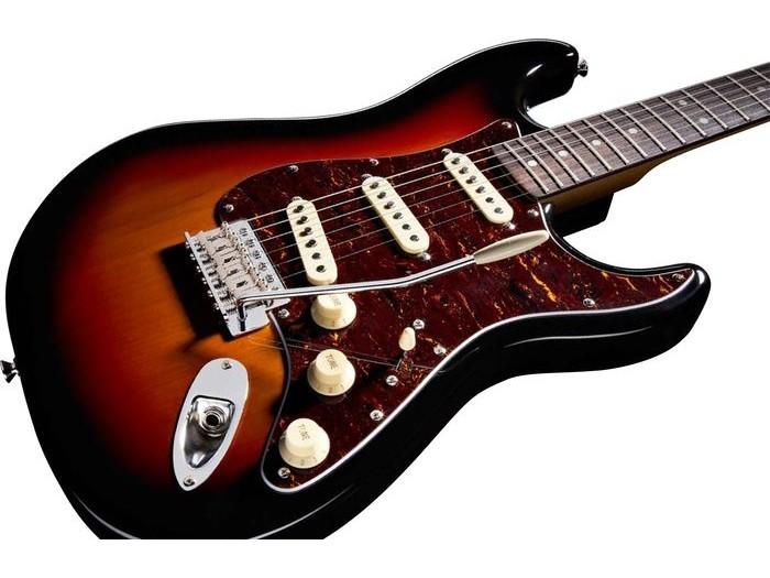 Classic Vibe Stratocaster 60s : squier by fender classic vibe stratocaster 39 60s rosewood fretboard 3 color sunburst elektri na ~ Hamham.info Haus und Dekorationen