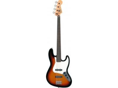 Fender Standard Jazz Bass Fretless. Rosewood Fretboard. Brown Sunburst *