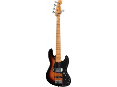 Fender Marcus Miller Jazz Bass V (5-String). Maple Fretboard. 3-Color Sunburst *