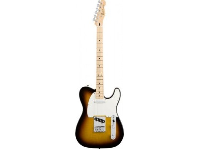 Fender Standard Telecaster Maple Fretboard. Brown Sunburst