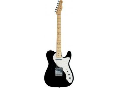 Fender Classic Series '69 Telecaster Thinline. Maple Fretboard. Black