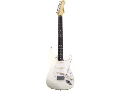 Fender Jeff Beck Stratocaster Rosewood Fretboard. Olympic White