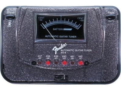 RASPRODAJA - pedale, procesori, efekti FENDER AG 6 TUNER BLACK SPARKLE