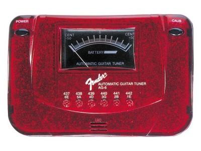 RASPRODAJA - pedale, procesori, efekti FENDER AG 6 TUNER RED SPARKLE