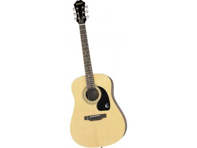 Epiphone DR-100 Nat Ch Hdwe Natural Chrome