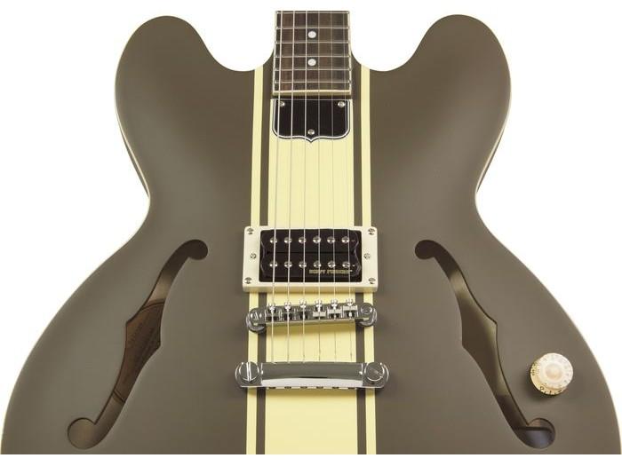 epiphone tom delonge signature es 333 brown chrome elektri na gitara. Black Bedroom Furniture Sets. Home Design Ideas