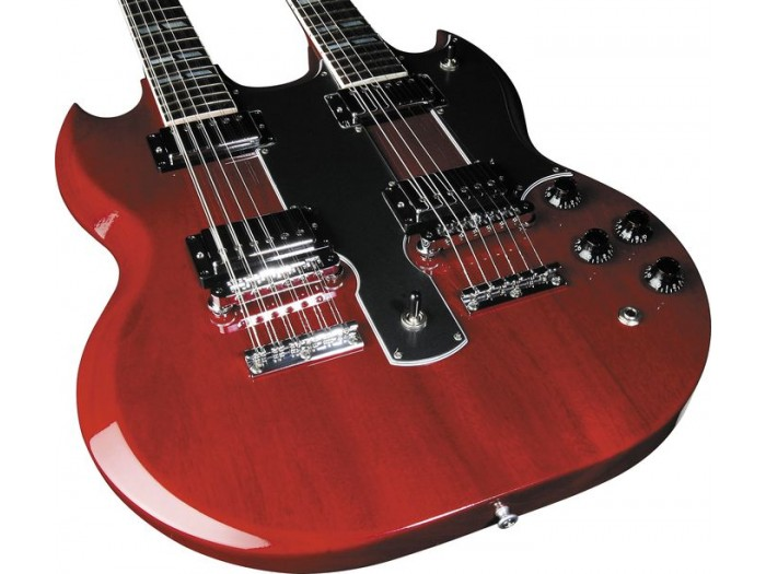 gibson eds 1275 double neck electric guitar. Black Bedroom Furniture Sets. Home Design Ideas