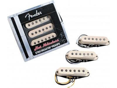 Fender PRIBOR Hot Noiseless Stratocaster Pickups. Aged White. Set of 3