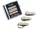 Fender PRIBOR Hot Noiseless Stratocaster Pickups. Aged White. Set of 3