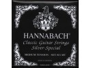 Hannabach Strings for classic guitar Series 815 High tension Silver special