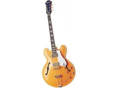 Epiphone Casino Nat Ch Hdwe Natural Chrome