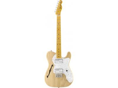 RASPRODAJA - premium klasa gitare FENDER American Vintage '72 Telecaster Thinline. Maple Fretboard. Natural