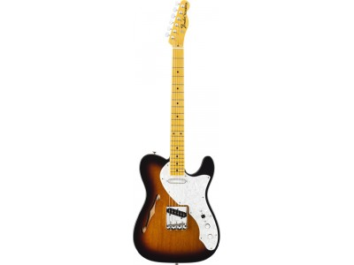 RASPRODAJA - premium klasa gitare FENDER American Vintage '69 Telecaster Thinline. Maple Fretboard. 2-Color Sunburst