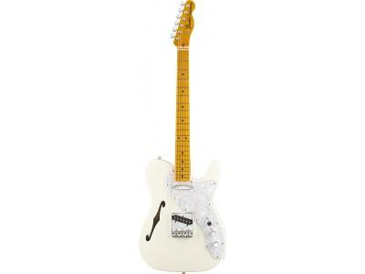 RASPRODAJA - premium klasa gitare FENDER American Vintage '69 Telecaster Thinline. Maple Fretboard. Olympic White