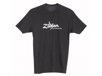 Zildjian SLIM FIT CLASSIC BLACK TEE SHIRT  MEDIUM