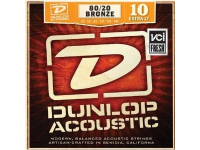 Jim Dunlop DAB1048 AG-BRS EXTRA LIGHT SET