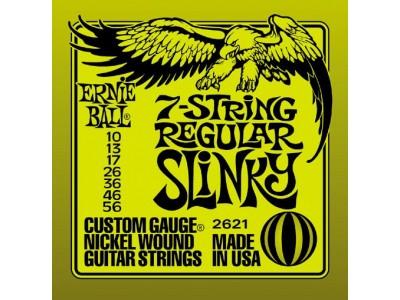 Ernie Ball P02621  NICKL 7 REG SLINKY