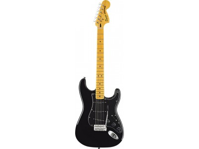 Squier By Fender Vintage Modified '70s Stratocaster. Maple Fretboard. Black