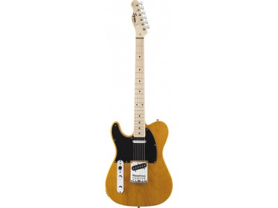Squier By Fender Affinity Telecaster Left Handed. Maple Fingerboard. Butterscotch Blonde