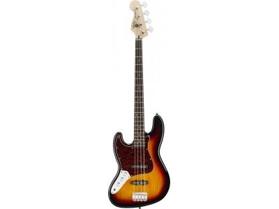Squier By Fender Vintage Modified Jazz Bass Left Handed. Rosewood Fretboard. 3-Color Sunburst