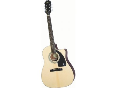 Epiphone AJ-100ce Nat Ch Hdwe Natural Chrome