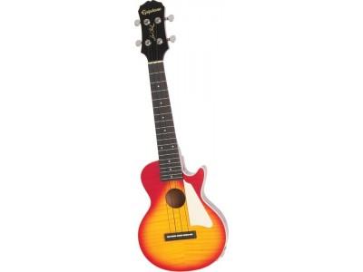 Epiphone Les Paul Ac/El Ukulele Outfit Heritage Cherry Sunburst Nickel