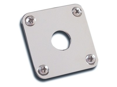 Gibson PRIBOR Jack Plate - Nickel Natural