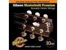 Gibson PRIBOR Masterbuilt Premium Phosphor Bronze .010-.047 Acou Bronze