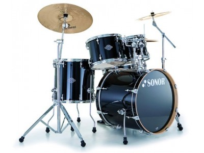 Sonor SEF 11 Stage 2 Set WM Piano Black 11234