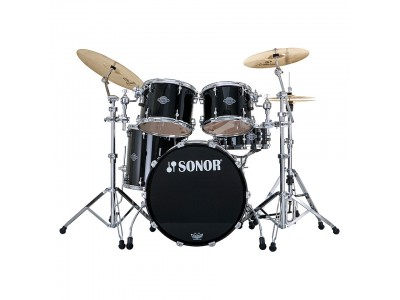 ON-LINE RASPRODAJA - bubnjevi SONOR ASC 11 Stage 2 Set WM Piano Black 11234