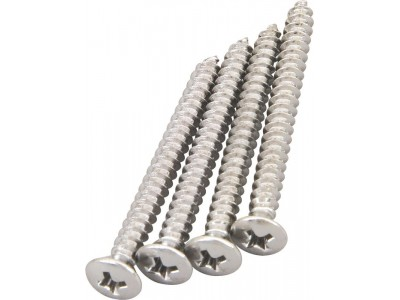 Fender PRIBOR Neck Mounting Screws. Chrome. Package of 4 *
