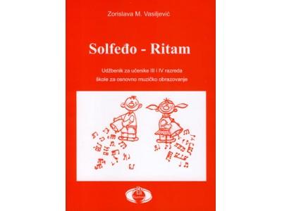Literatura Z. Vasiljević - Solfedjo-Ritam za 3. i 4. razred